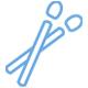 Аппликаторы для ресниц и бровей