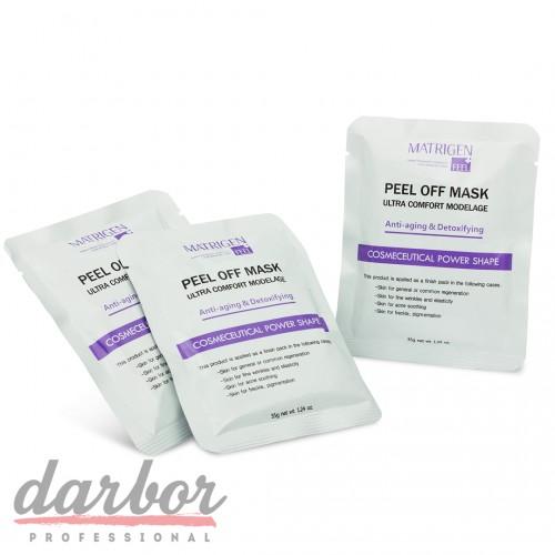 Альгинатная маска Anti-aging & Detoxing Matrigen  пакетик 35 гр