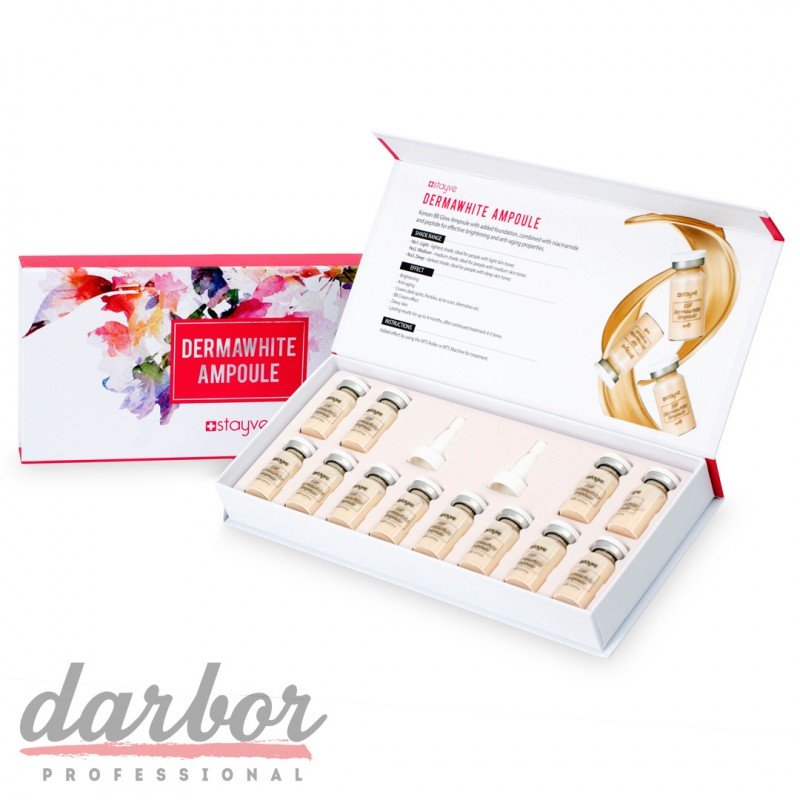 Сыворотка Stayve Derma White ampoule №1 Light в коробке