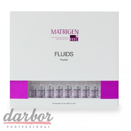 Сыворотки Matrigen Peptide Fluids в коробке