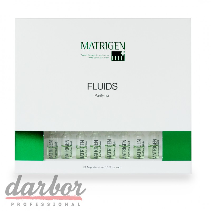Сыворотки Matrigen Purifying Fluids в коробке