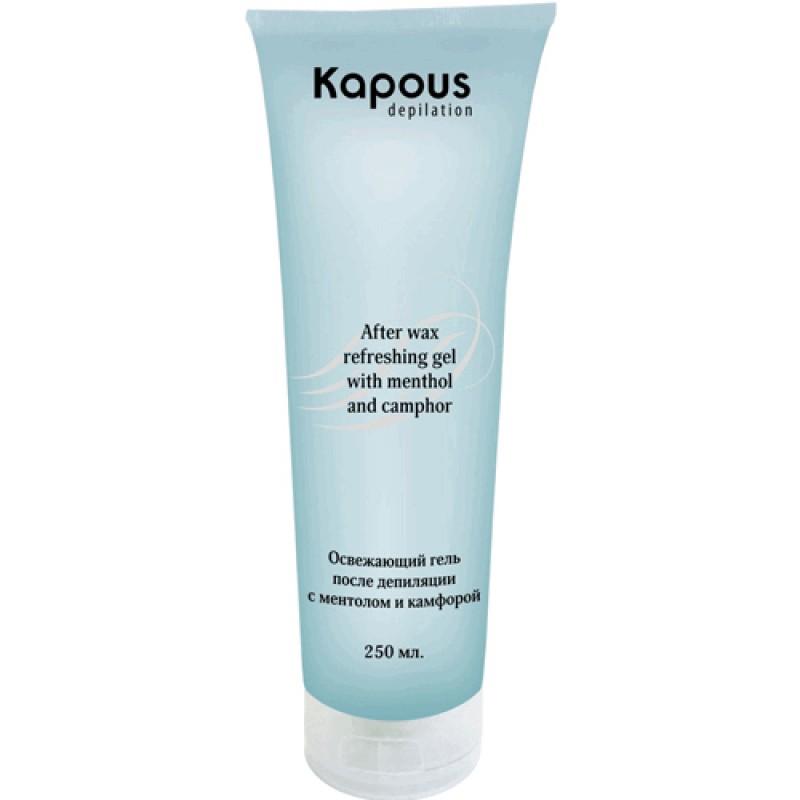 Освежающий гель после депиляции с ментолом и камфорой Kapous