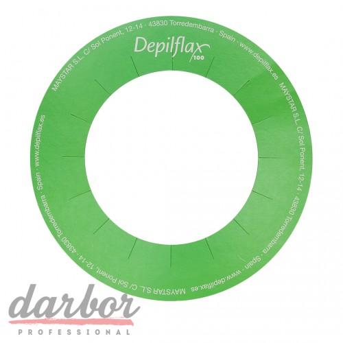 Кольца для воскоплава бумажные Depilflax 20 шт