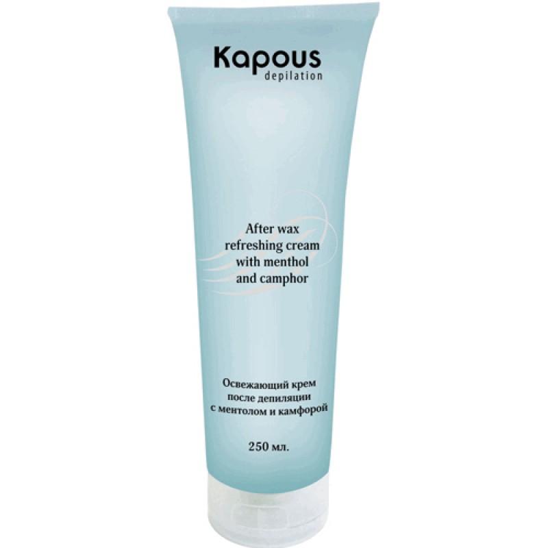 Освежающий крем после депиляции с ментолом и камфорой Kapous