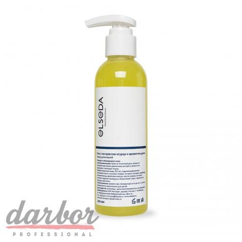 Очищающий гель Elseda с экстрактом огурца и ароматом дыни 200 мл