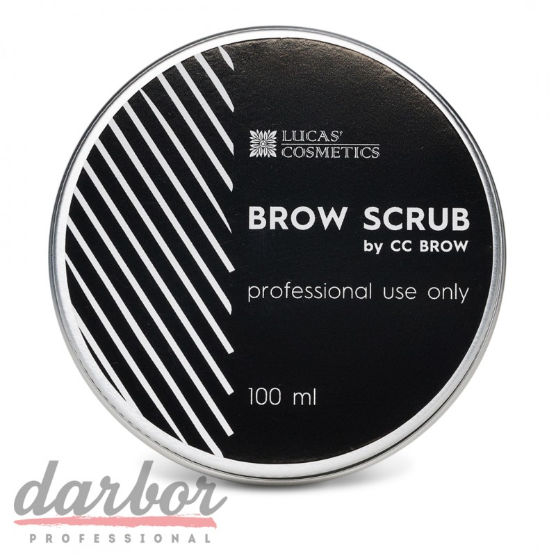 Скраб для бровей Brow Scrub CC Brow