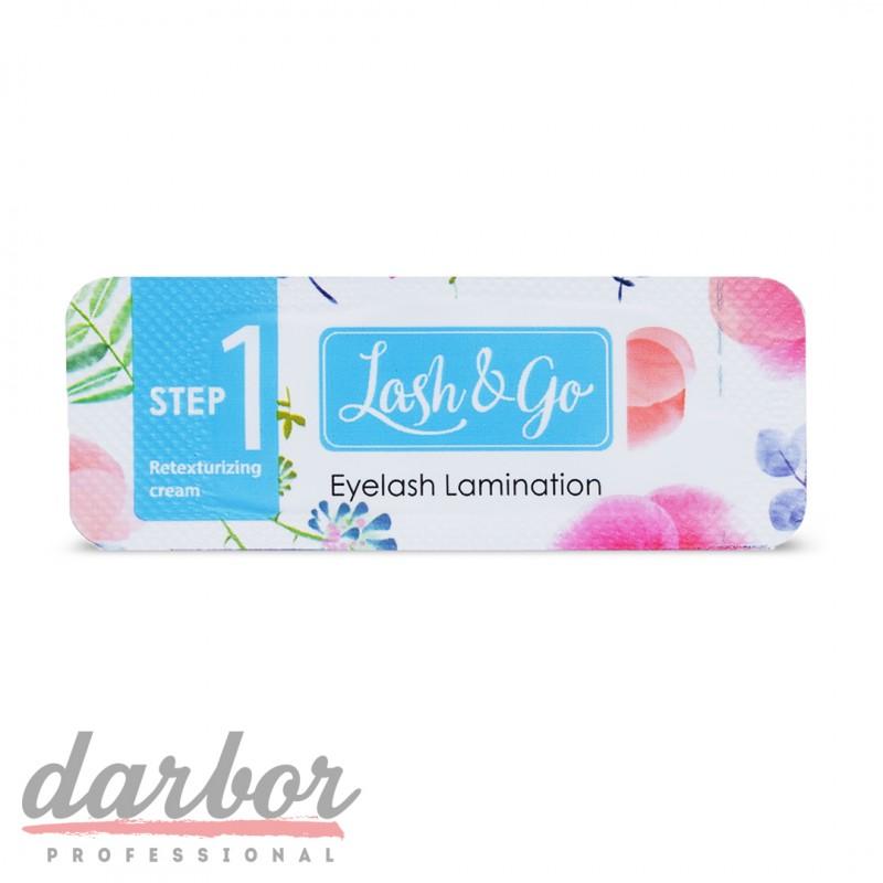 Состав для ламинирования ресниц Lash&Go №1 Retexturizing Cream
