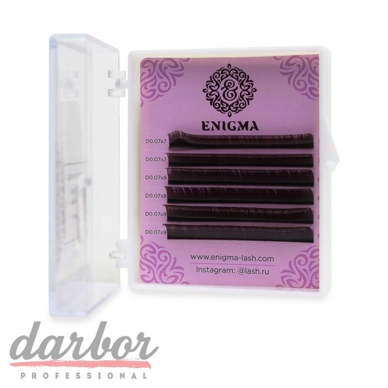 Ресницы для наращивания черные ENIGMA (6 линий)