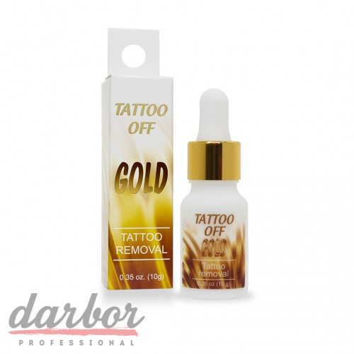 Тату ремувер Tattoo Off Gold